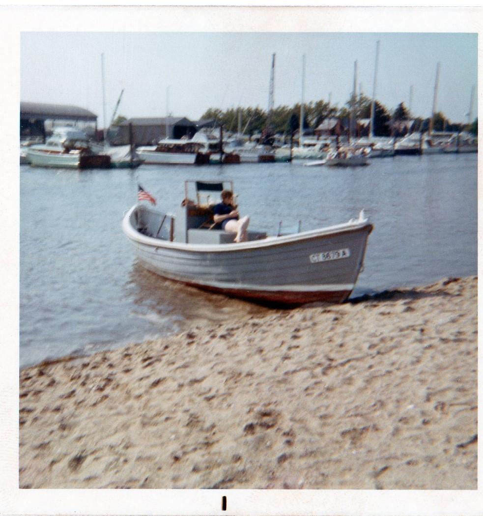 Oak Island Boat