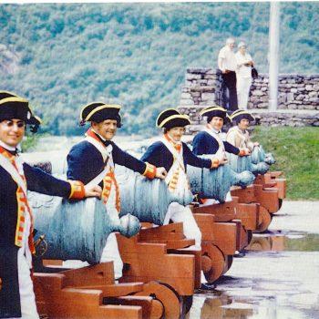 Capt S. Lockwoods Arty, Fort Tyconderoga 1977