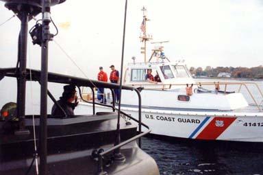 US Coast Guard meets PBR 721