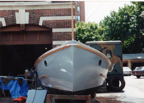 Two Navy 26' Motor Whaleboats Restored by Dennis