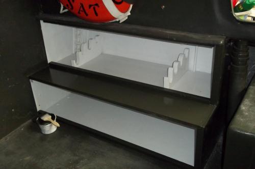More PBR 721 Restoration Details - arms locker