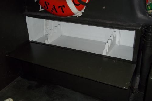More PBR 721 Restoration Details - upper arms storage