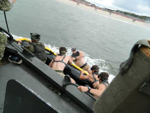 SEAL Team Deploying