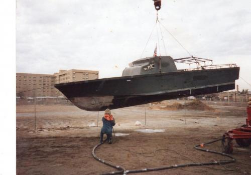 Beginning of PBR 721 Restoration