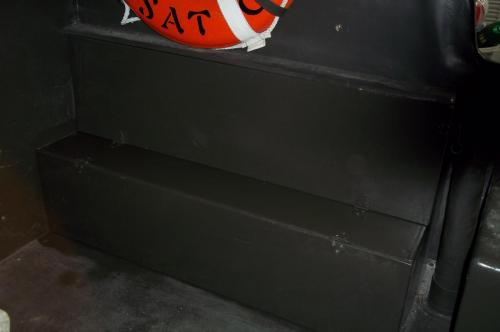 More PBR 721 Restoration Details - details arms locker closed